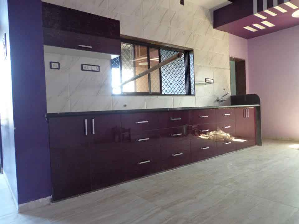 Small Straight Kitchen Design. A straight kitchen is a one wall layout with counter space on both  sides of the cooking range Ideal for small areas this design can Kitchen Straight ZIYKO