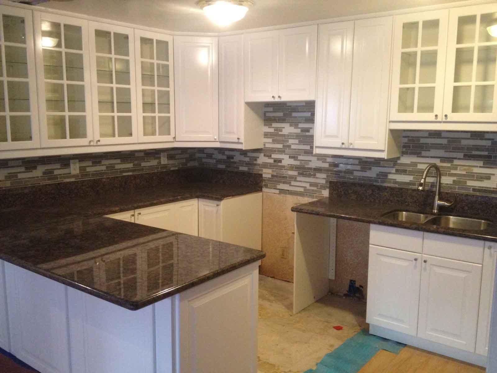 Granite Countertops Cost Per Linear Foot : ... Countertops Cost New Kitchen Cabinets And Countertops Cost Excellent